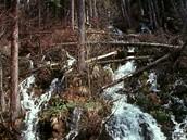 Vodopád v Karlově Studánce