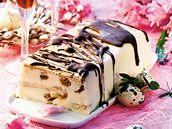Cheesecake se sušenkami a čokoládou