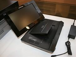 Panasonic novinky 2009 - první přenosný Blu-ray přehrávač DMP B15