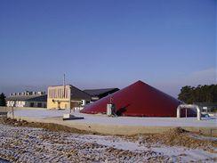 Bioplynová stanice ve Vejprnicích.