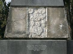 Památník rudoarmějců v Božetěchově ulici v Králově Poli