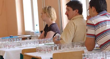 Smyslová zkouška na střední škole ve Valticích