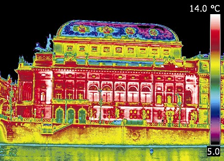 Národní divadlo (termosnímek)