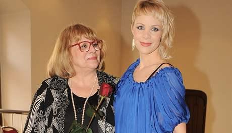 Naďa Urbánková s dcerou Janou Fabiánovou
