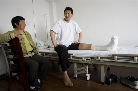 Možný nejvyšší muž na světě, Zhao Liang.
