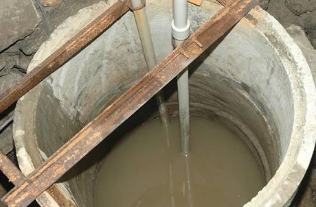 Po chvíli se studna začala plnit