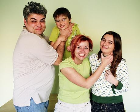 Manželé Poláčkovi a jejich děti, Bára a Jára