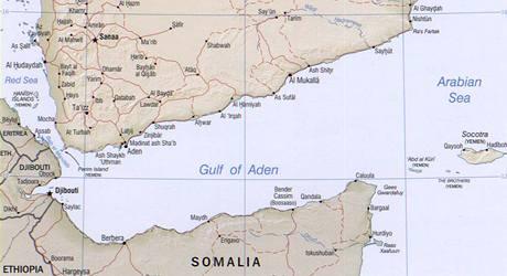 Adenský záliv.