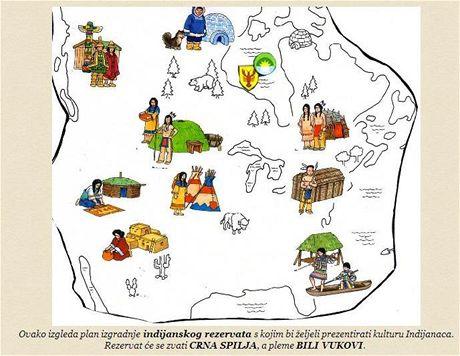 Winnetouland - mapa areálu