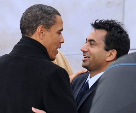 Kal Penn a Barack Obama