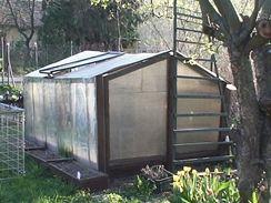 Malý skleníček určený k experimentu