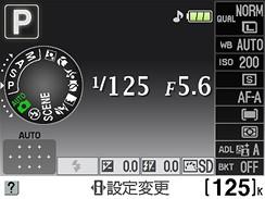 Nikon D5000 menu