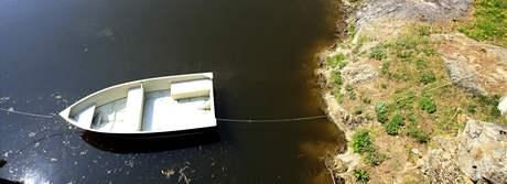 Jevišovice chtějí zbavit svou přehradu od sinic