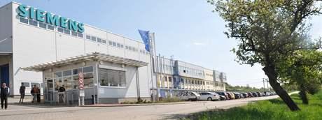 Sídlo firmy Siemens v Drásově