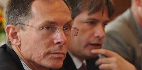 Jan Švejnar a Roman Onderka v Brně