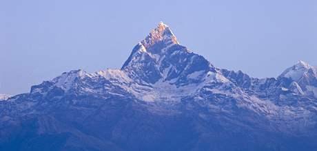 Vrchol Annapurny