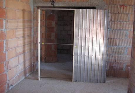 Posuvné dveře do pouzdra sádrokarton