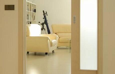 Standardní jednokřídlé posuvné dveře