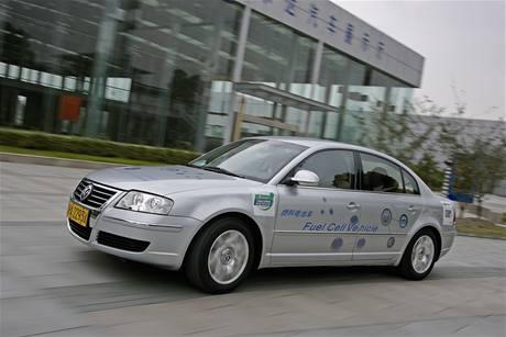 Vodíkový Volkswagen Passat Lingyu