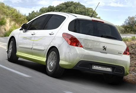 Peugeot 308 HybridHDi
