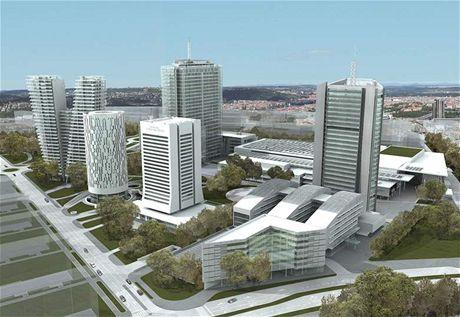 Dva plánované mrakodrapy na Pankráci mají měřit 80 a 104 metrů. UNESCO doporučuje stavby vysoké maximálně 70 metrů.