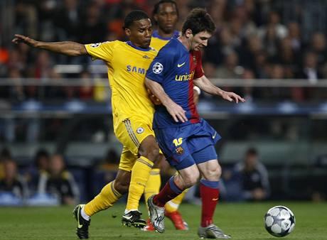 Barcelona - Chelsea: Messi a Malouda