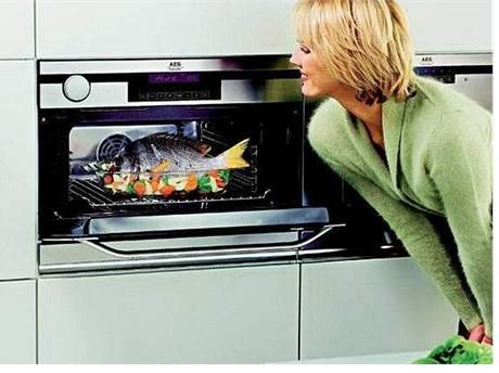 Vaření v páře electrolux