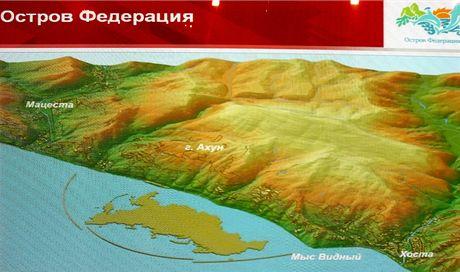 Rusko, umělé souostroví Federation Islands vyroste do roku 2014 poblíž Soči
