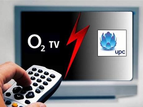 Souboj O2TV versus UPC