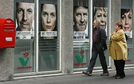 Na Islandu startují předčasné volby do parlamentu (25. dubna 2009)