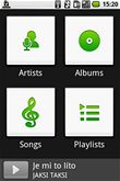 Google Android - Music