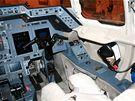 Kokpit v letounu Hawker 800XP