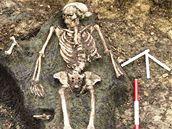 Keltský nález z doby laténské (mladší doba železná) v Rousínově.