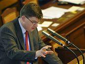 Jiří Pospíšil na jednání Sněmovny (29. dubna 2009)