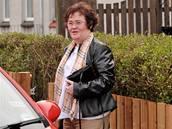 Susan Boyle s novým účesem