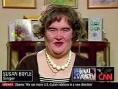 Susan Boyle prošla menší proměnou i během rozhovoru pro CNN