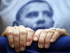 Pulitzerova cena 2008 - snímek oceněného fotografa Damona Wintera z volební kampaně Baracka Obamy
