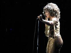 Tina Turner vystoupila v pra�sk� O2 Aren�