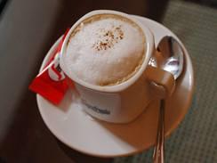Zdravá kavárna: capuccino