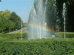 Jarní FLORA OLOMOUC 2009 - i Smetanovy sady jsou na návštěvníky natěšené.
