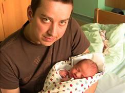 Petr Bende se synem Matyasem