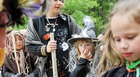 Pálení čarodějnic. (30. dubna 2009)