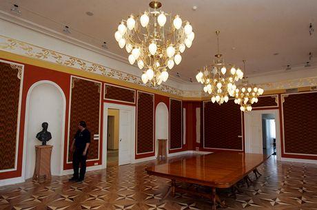 Interiéry Rothschildova zámečku v Ostravě