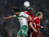 Werder Brémy - Hamburk: Demel, Jarolim a Diego