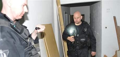 Noční služba zásahové jednotky brněnských strážníků
