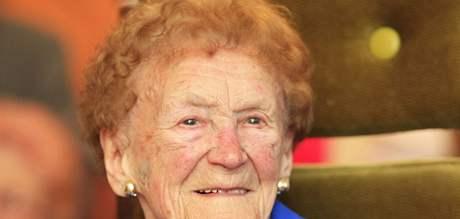 Juliana Vašíčková z Prušánek oslavila 106. narozeniny