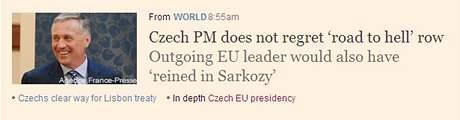 Rozhovor s Topolánkem na Financial Times