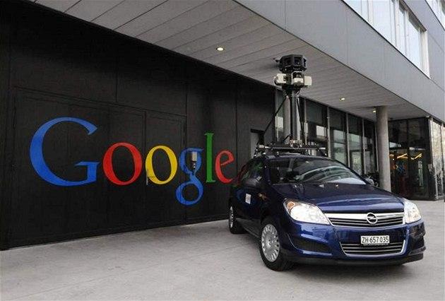 Oficiální foto Google Street View Car