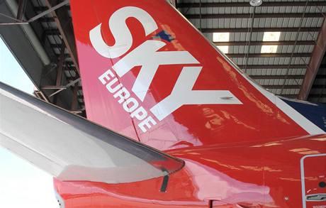 SkyEurope nakoupila nová letedla.