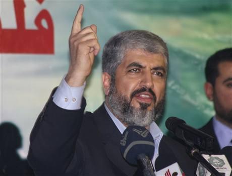 Exilový lídr Hamasu Chálid Mi�al